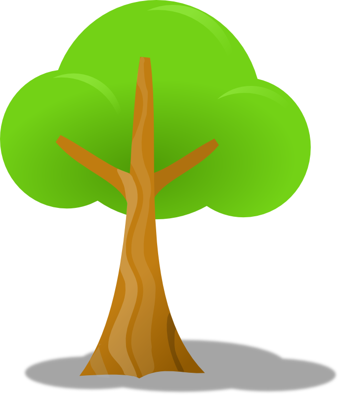 Clipart - Simple tree