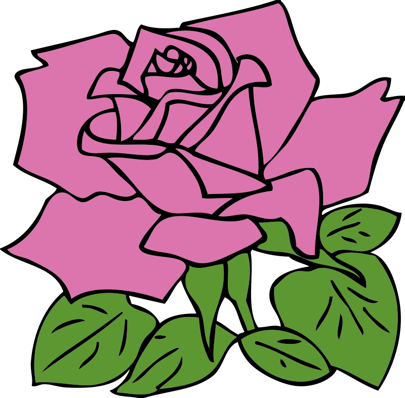Clipart Flower Rose
