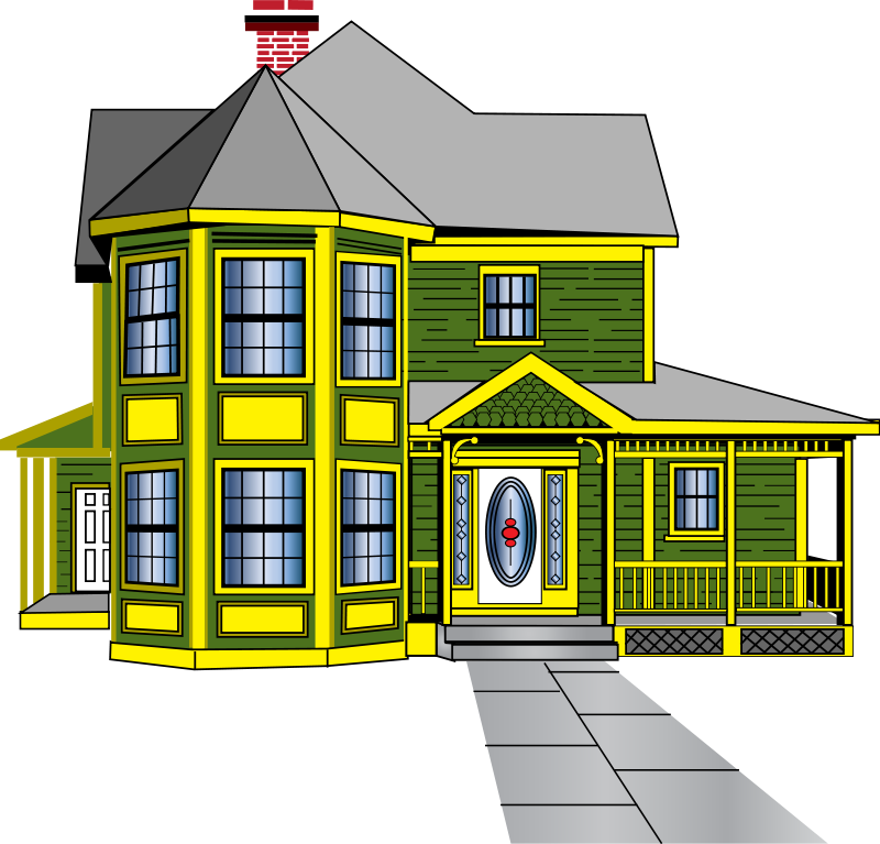 Haunted Houses Clipart - Cliparts.co