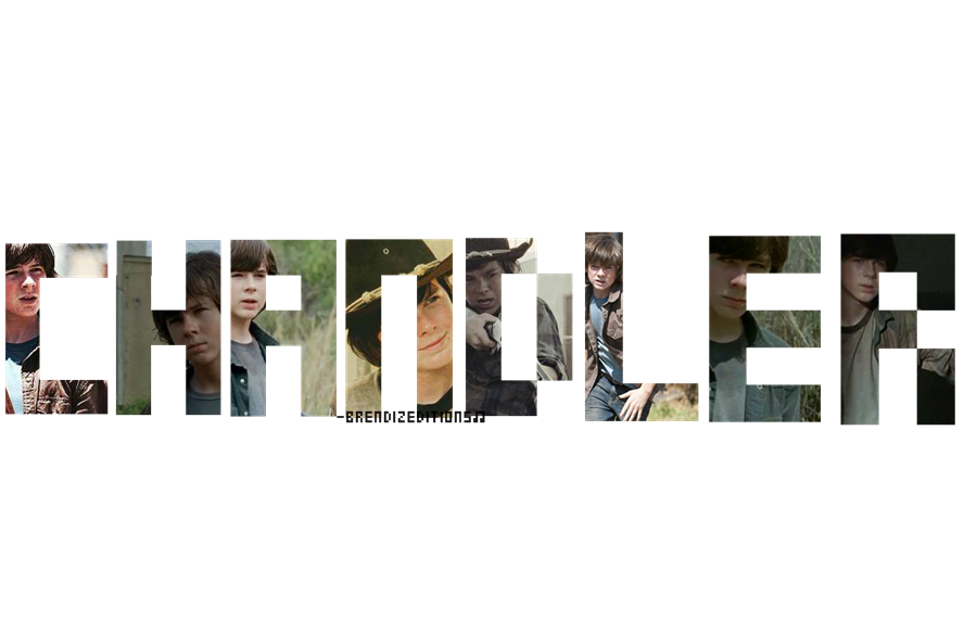 deviantART: More Like Texto png de Chandler Riggs|Carl The Walking ...