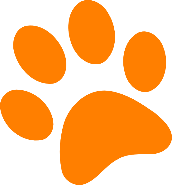 Paw Prints Clipart - Cliparts.co