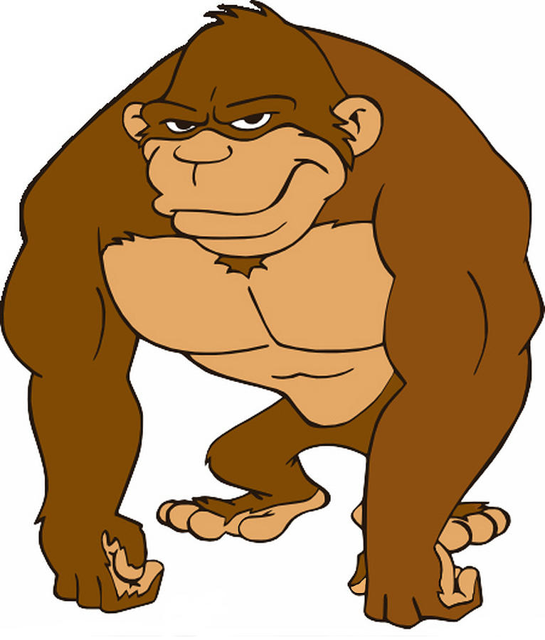 Gorilla Cartoon Clip Art Cliparts Co