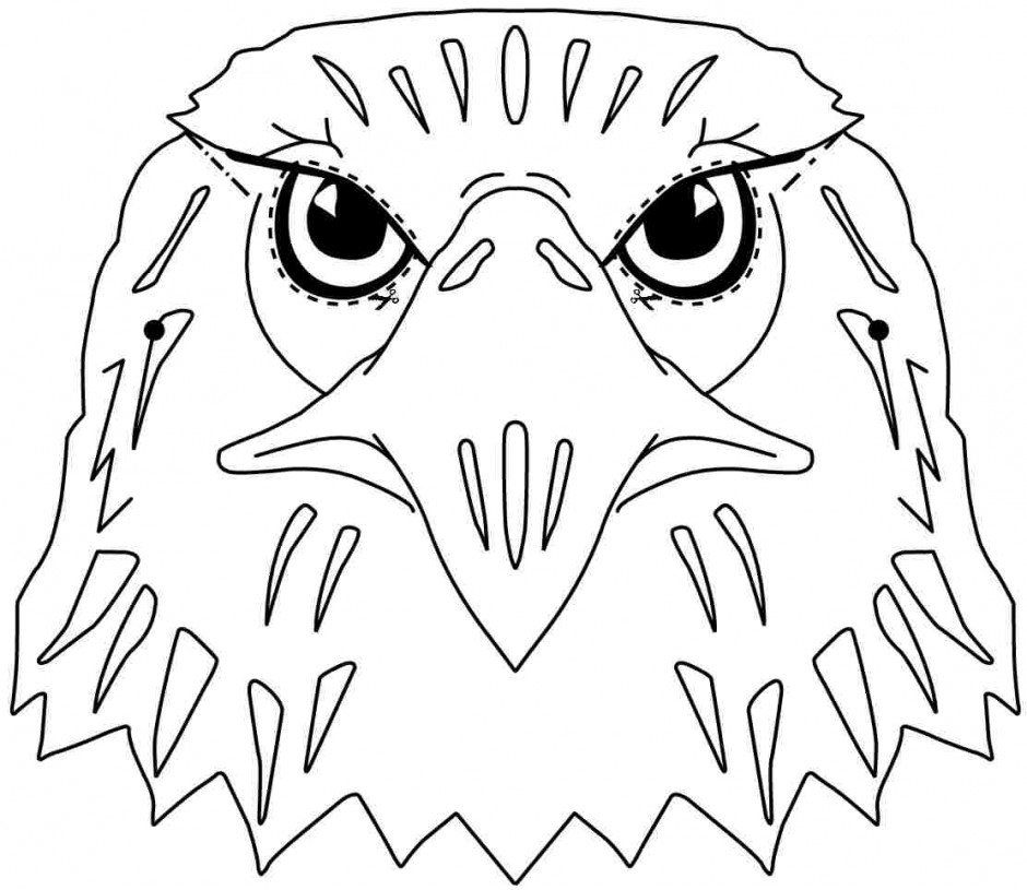 bald eagle outline