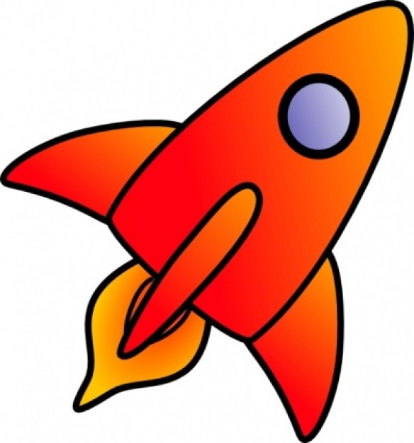 Cartoon Rocket clip art Vector | Free Download