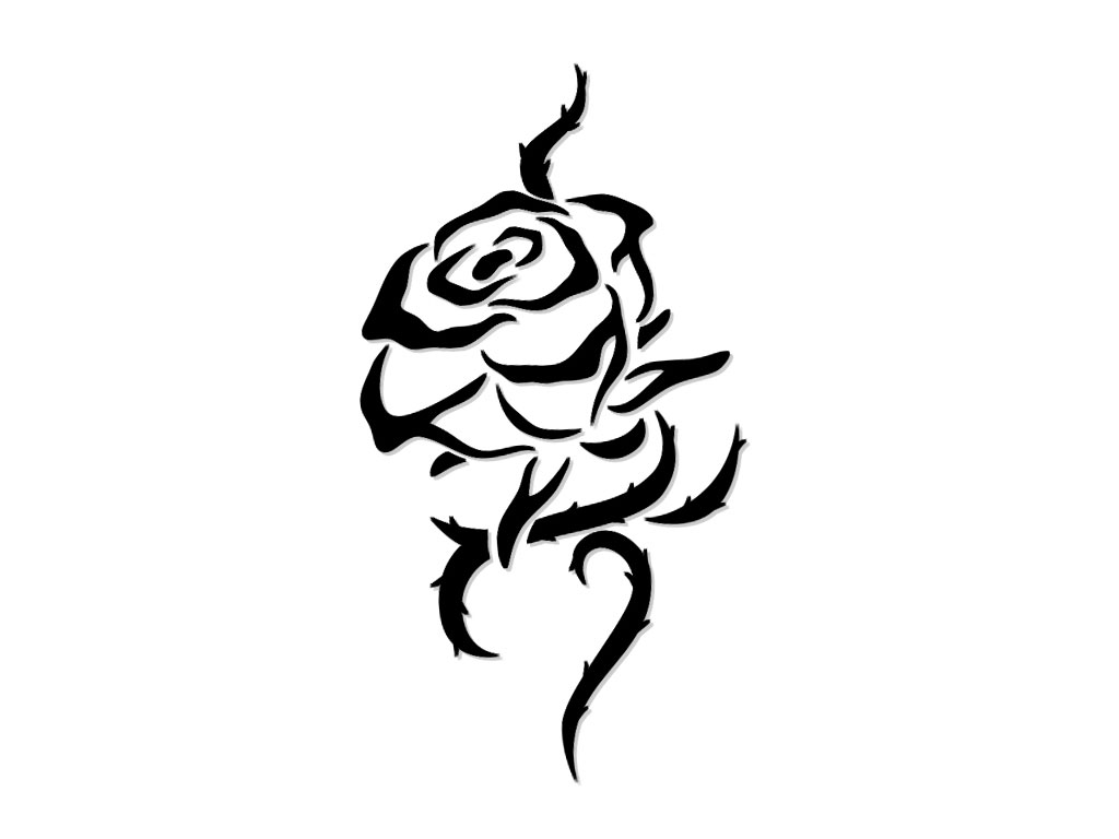 White On Black Tattoo