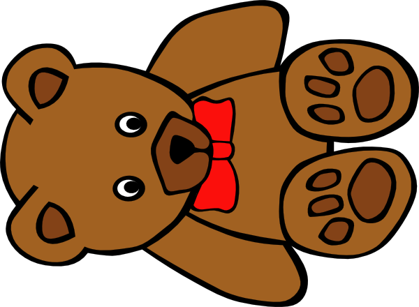 Teddy Bear Clip Art For Christmas | Clipart Panda - Free Clipart ...