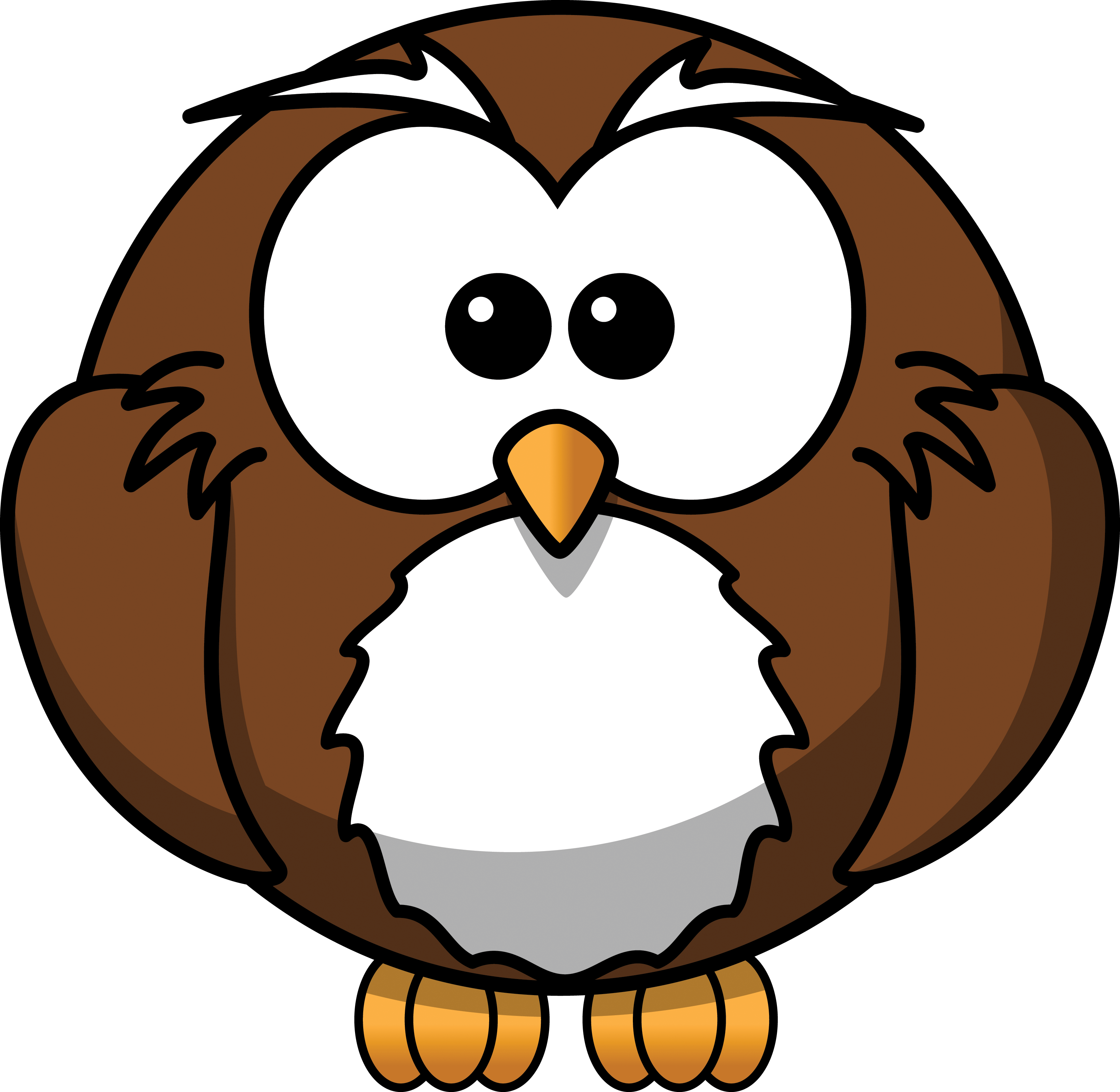 Cartoon Owl Clip Art | Halloween Wallpapers 2014