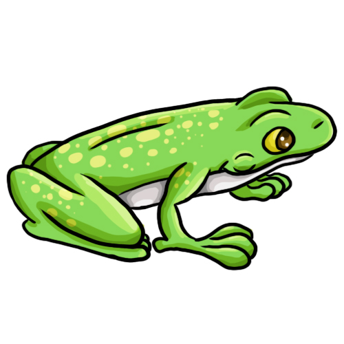 14 FREE Frog Clip Art Drawings and Colorful Images