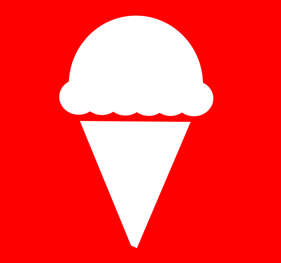 Ice Cream Icon Clipart, vector clip art online, royalty free ...