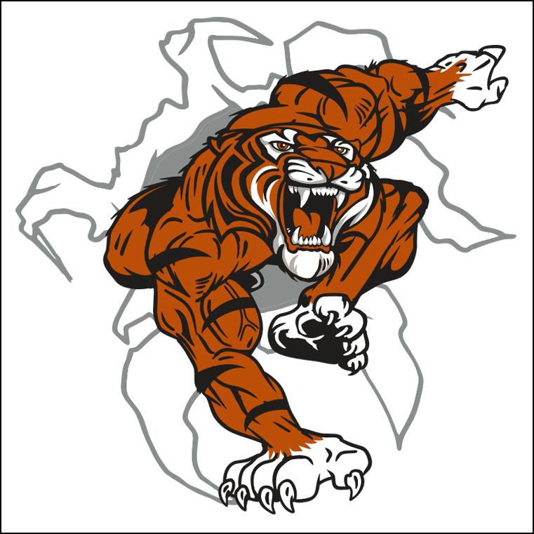 free tiger head clip art - photo #4