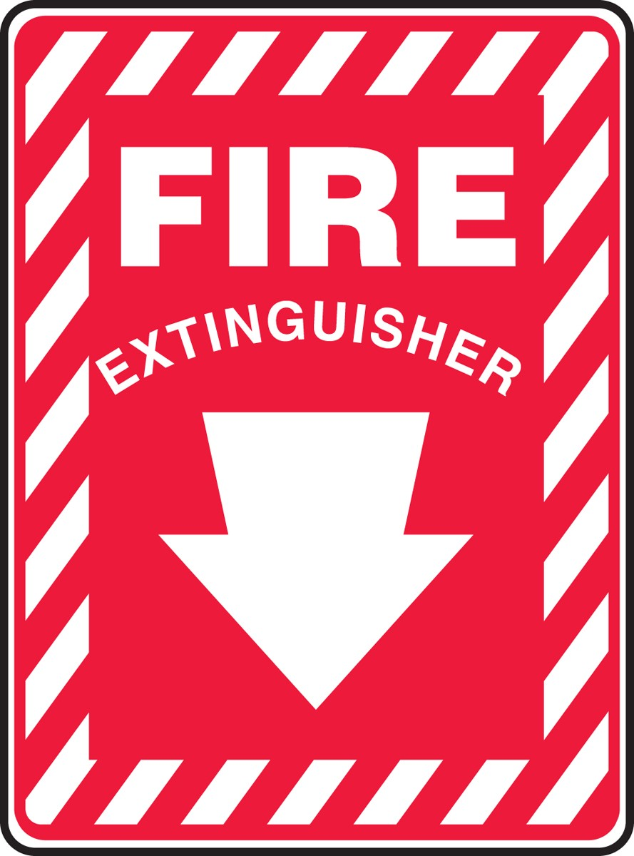 Exceptional image regarding printable fire extinguisher signs