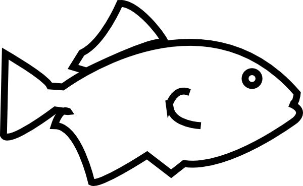 Fish Outline Template - ClipArt Best - Cliparts.co