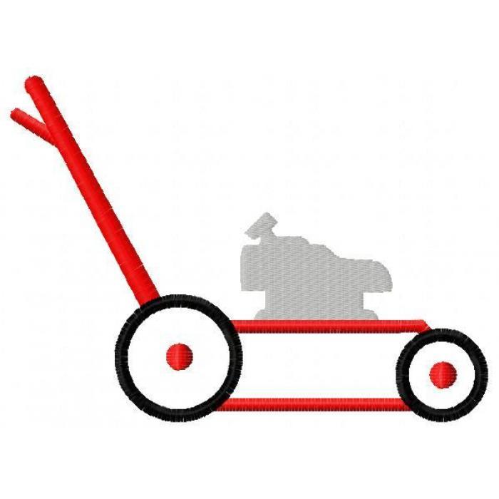free cartoon lawn mower clipart - photo #24
