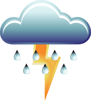 Thunderstorm Clipart thunderstorm clipart