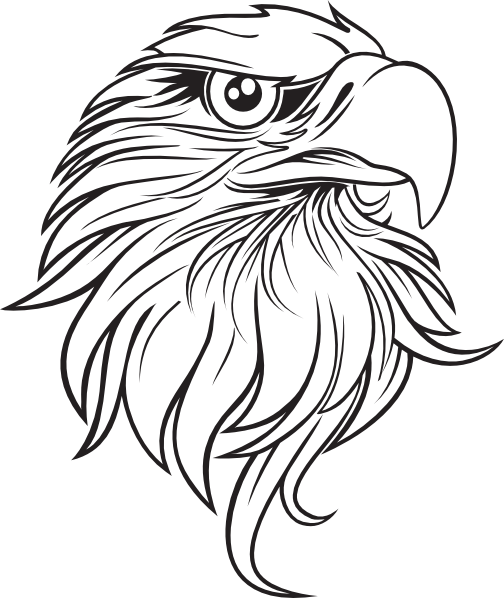 Bald Eagle Outline - Cliparts.co