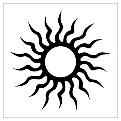Sun Tribal Tattoo | Maria Lombardic