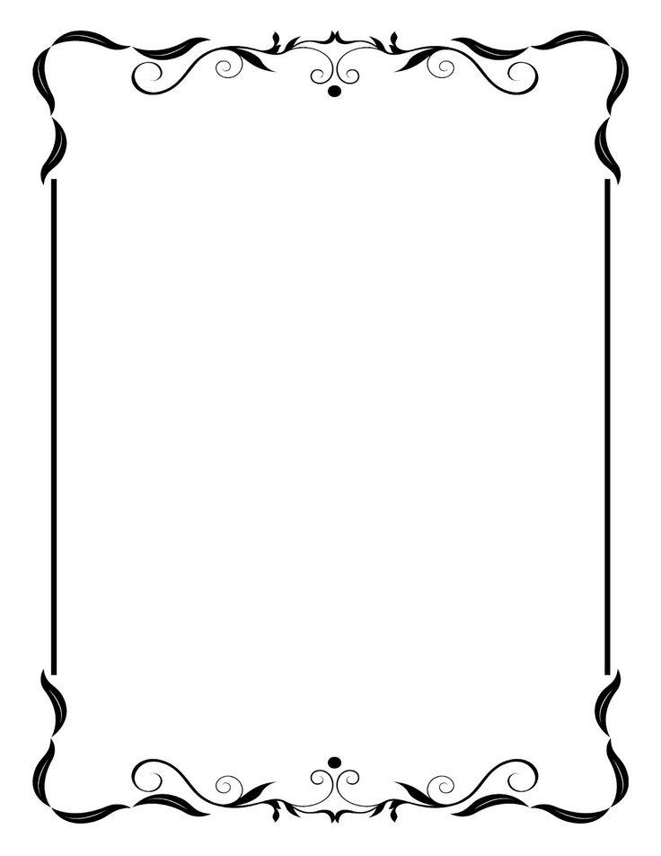Scroll Frame Clip Art ...