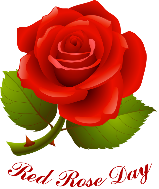 Information and Clip Art for National Red Rose Day
