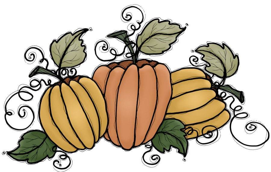 Thanksgiving Pumpkin Clip Art | lol-