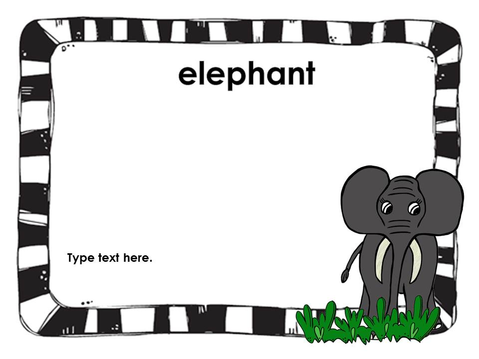 Zoo Animals Clip Art Border Zoo Animals Clipart Border