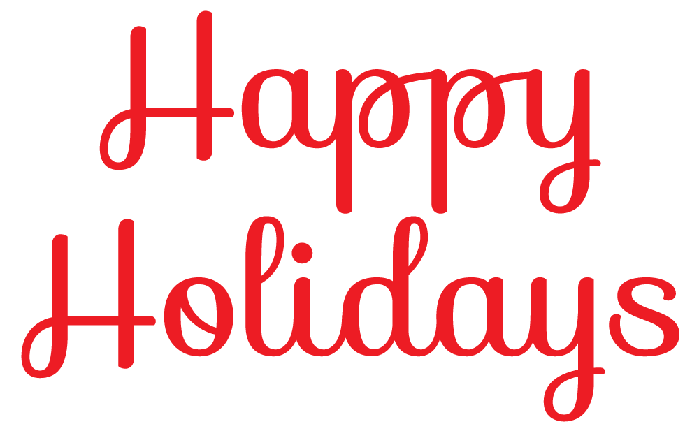 Happy Holidays Christmas Lights Decoration Clip Art Picture 2014 ...