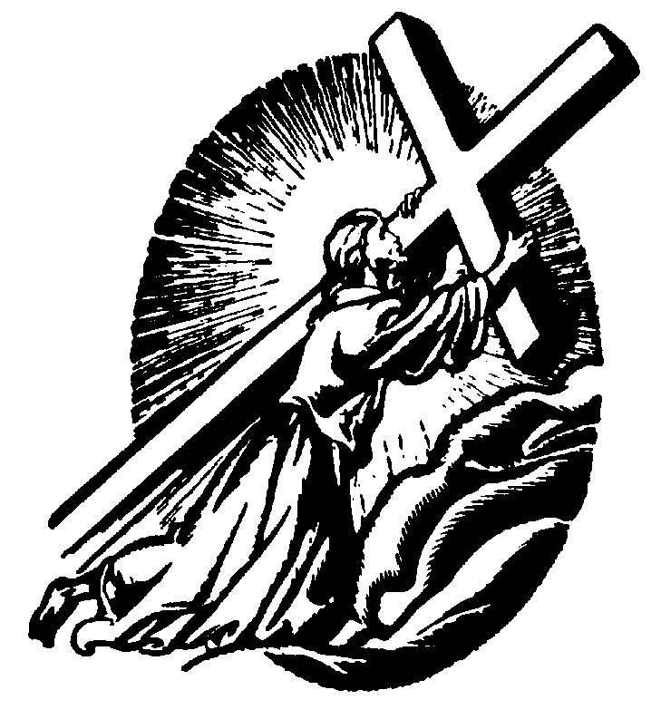 free clip art jesus carrying cross - photo #14