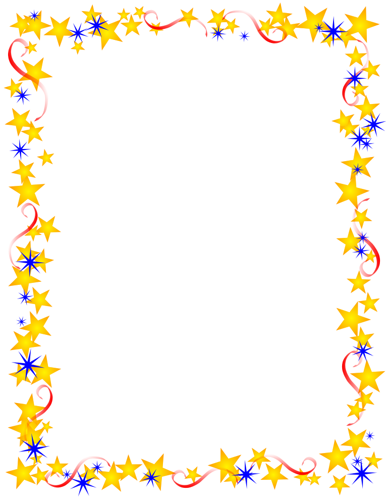Free Borders and Clip Art | Downloadable Free Stars Borders