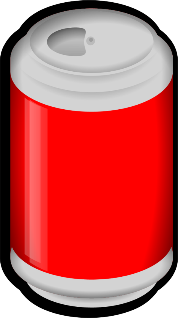 Cocacola Pepsi Can - vector Clip Art