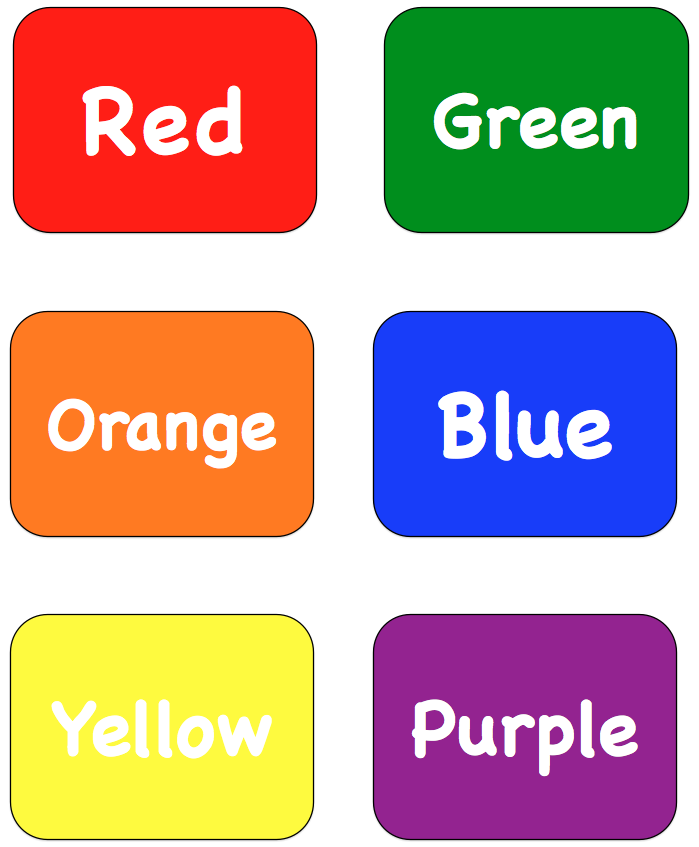 "The Lesson Cloud: FREE LANGUAGE ARTS LESSON - ""Color Words ..."