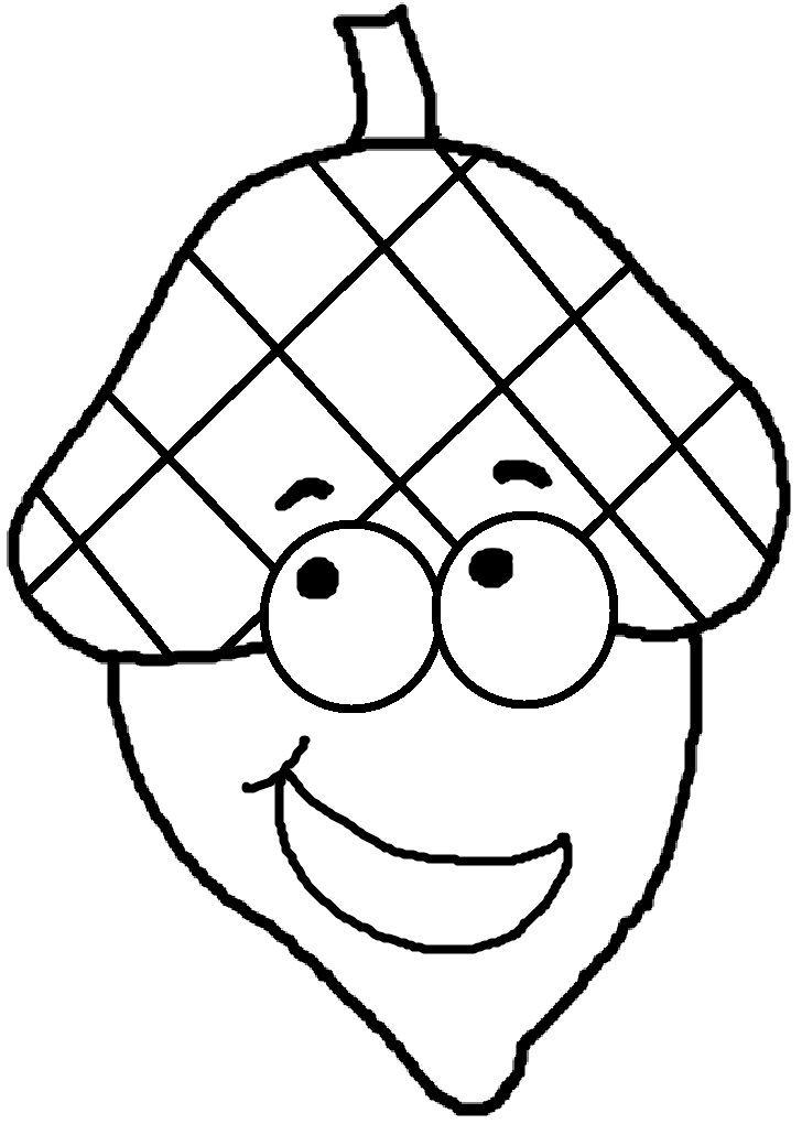 Church House Collection Blog: Free Acorn Clipart, Acorn With Hat ...