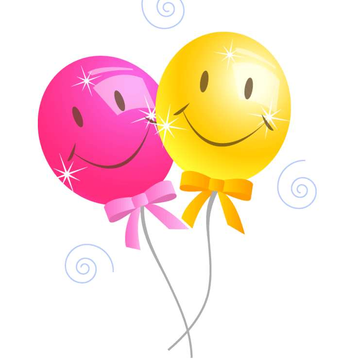 Happy Birthday Balloons Clip Art ~ Pictures of party balloons cliparts