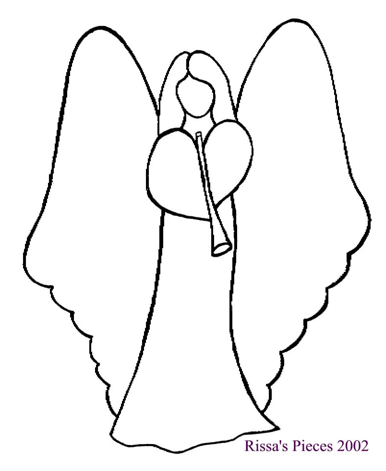 Drawing Lines For Quilting : Christmas angel clipart cliparts