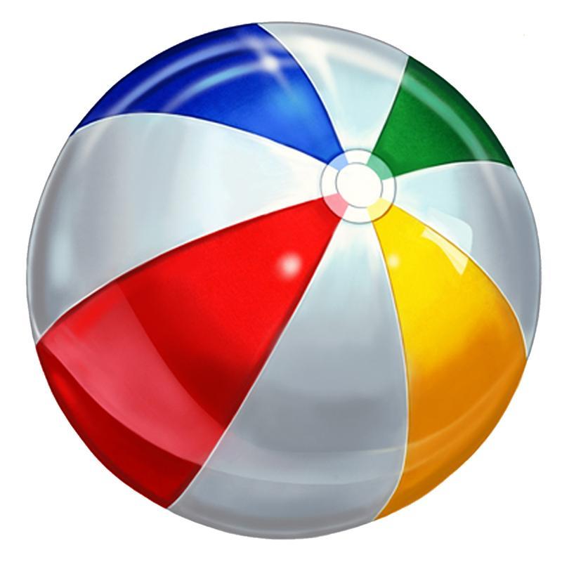 beach ball clipart cliparts co
