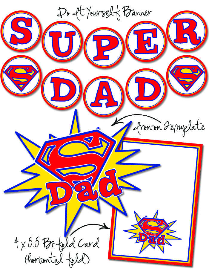 Free Printable Father's Day 2014 Clipart For Kids