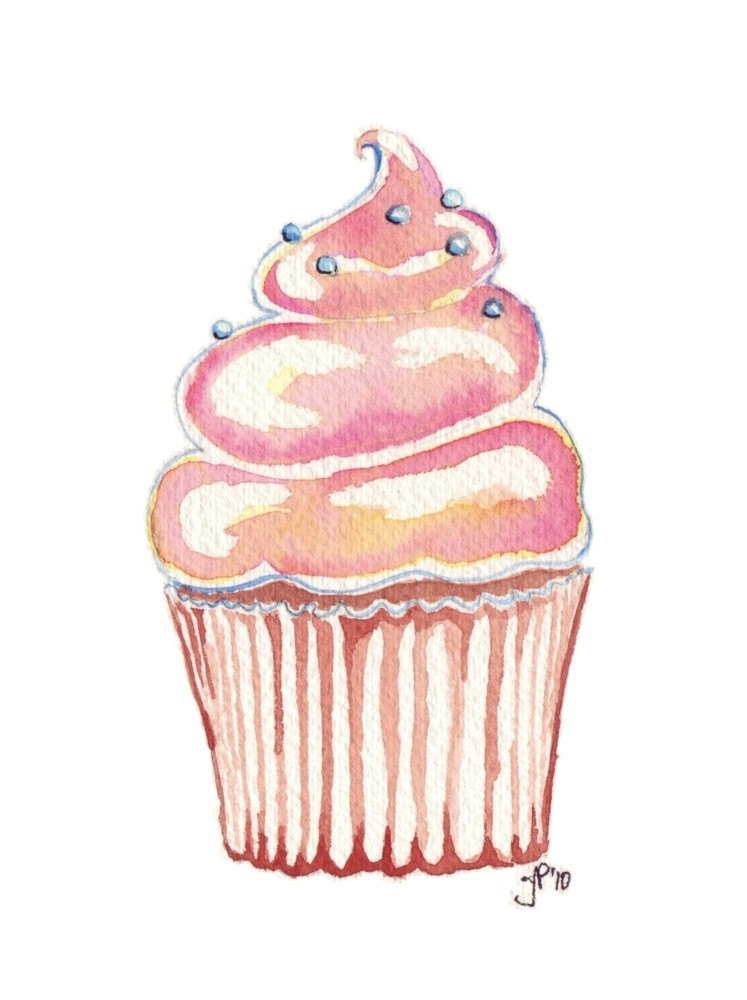 Cake And Art Cupcakes : Picture Cup Cake - Cliparts.co