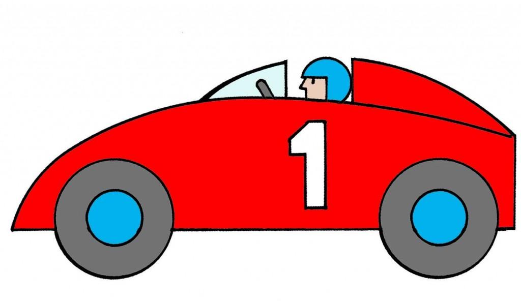 cartoon race car pictures. Black Bedroom Furniture Sets. Home Design Ideas