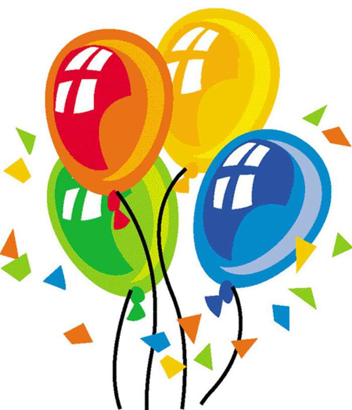 Happy birthday balloons free clipart | Free Reference Images