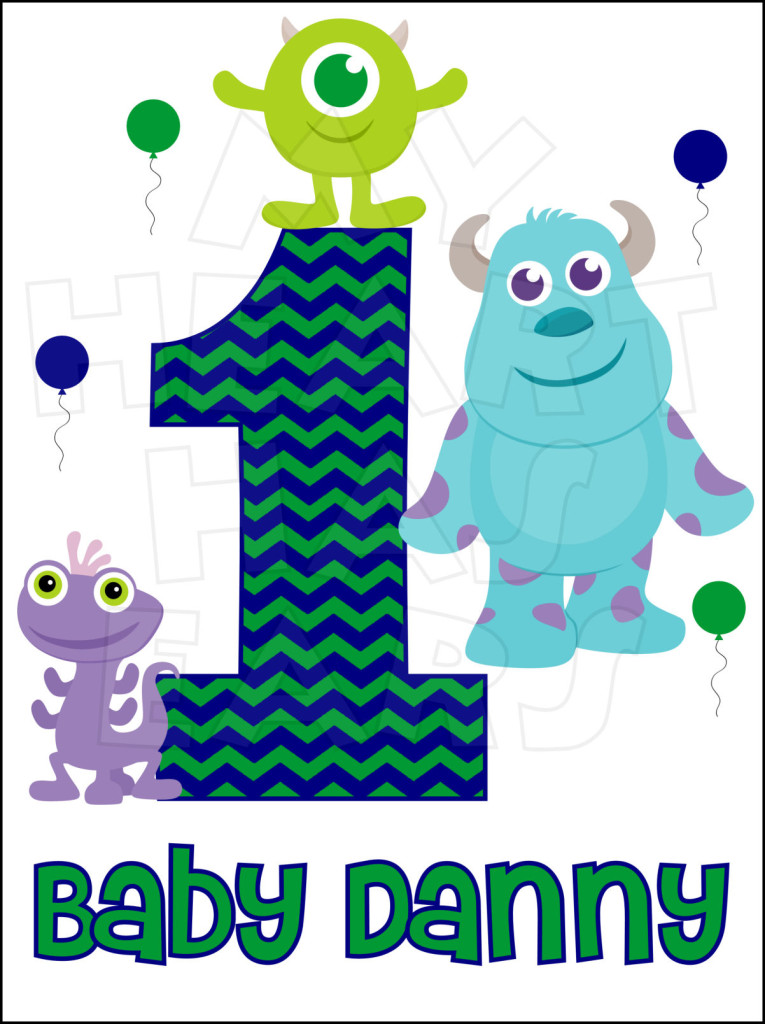 Monsters Inc Birthday Invitations was amazing invitation ideas