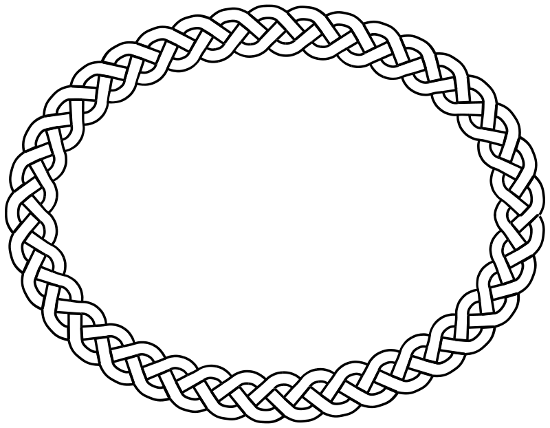 Yarn Clipart Black And White Pix For  Yarn Border Clipart