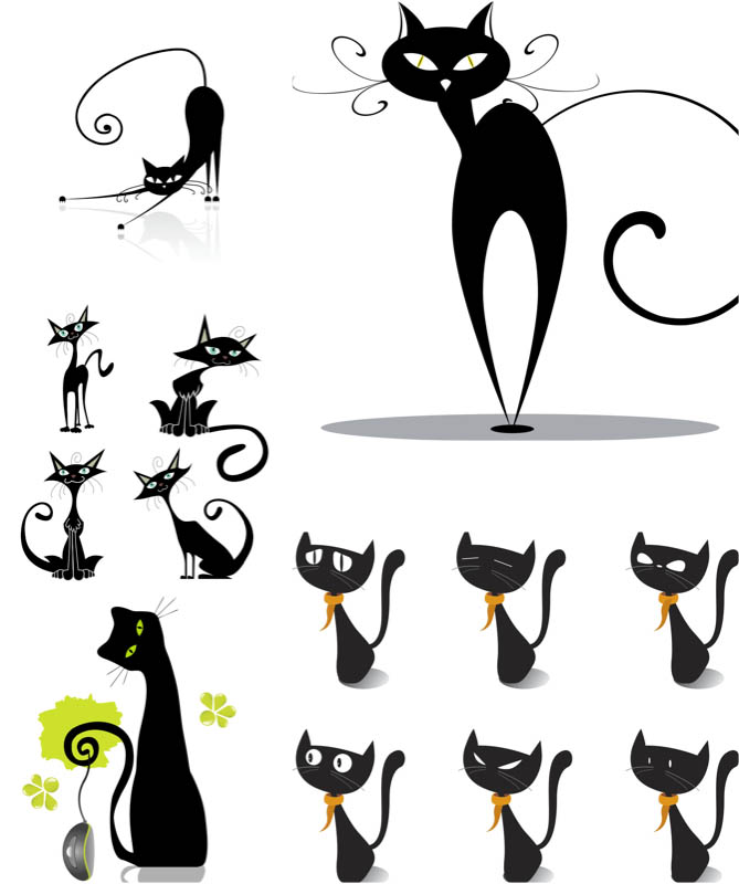 Cats | Vector Graphics Blog - Page 2