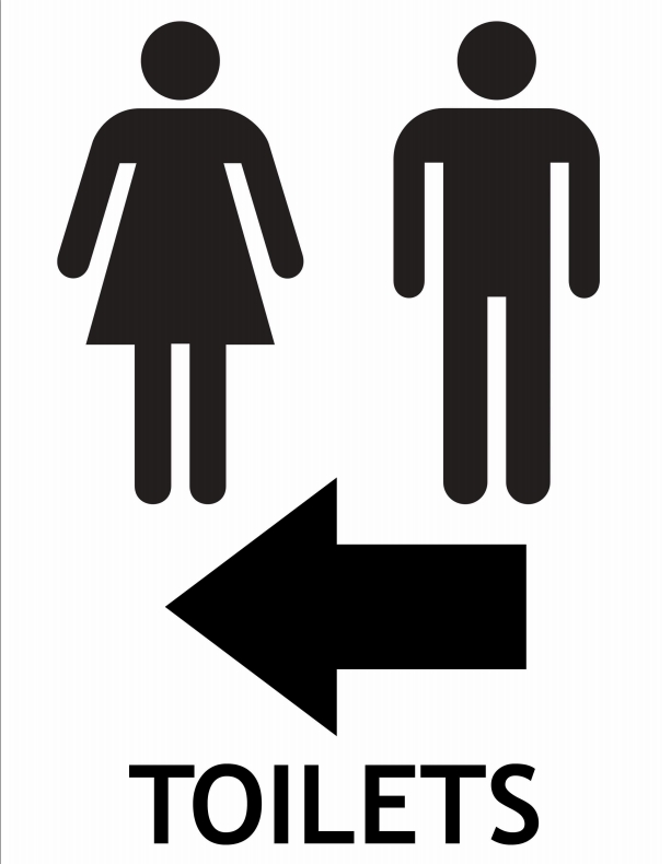 Unisex Bathroom Sign Printable