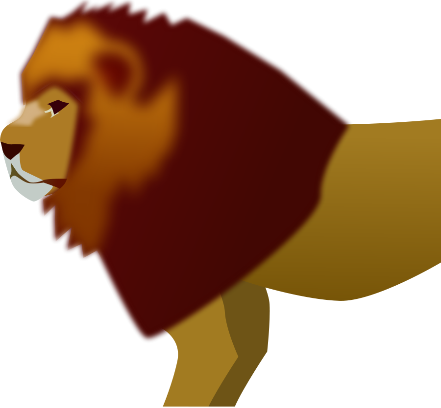 Lion Face Vector - Cliparts.co