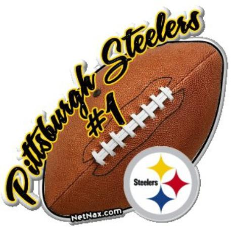 Pittsburgh Steelers logo with football - Picture of Pittsburgh ...