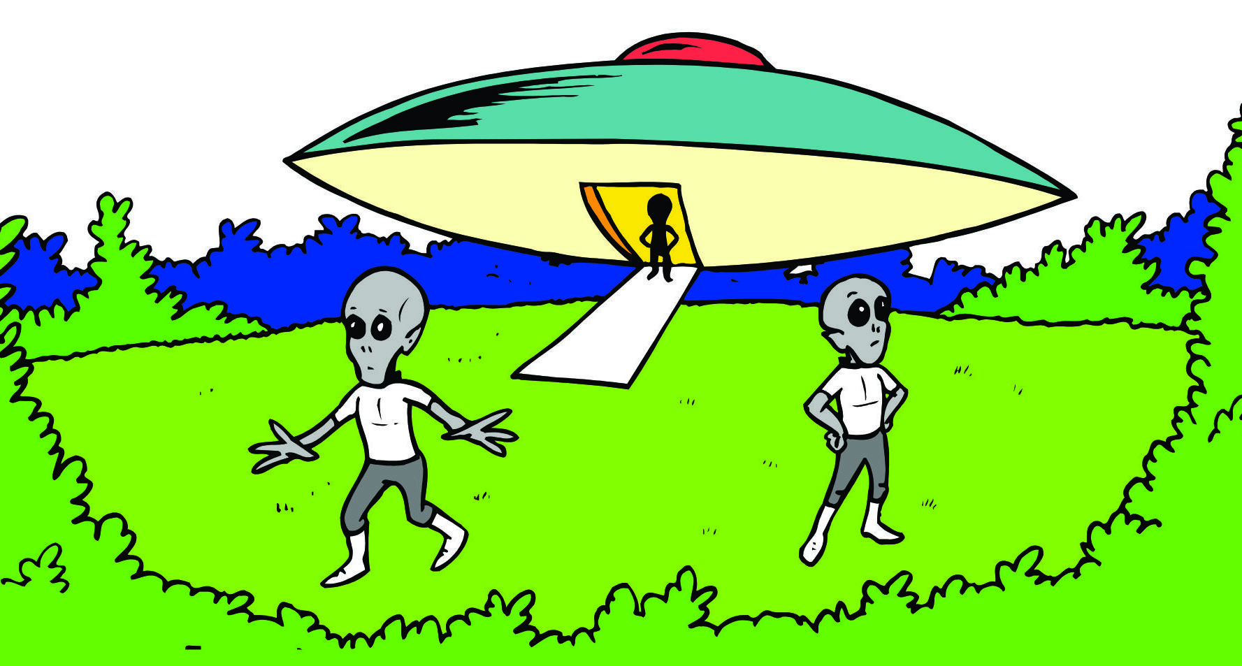 free clipart alien spaceship - photo #14