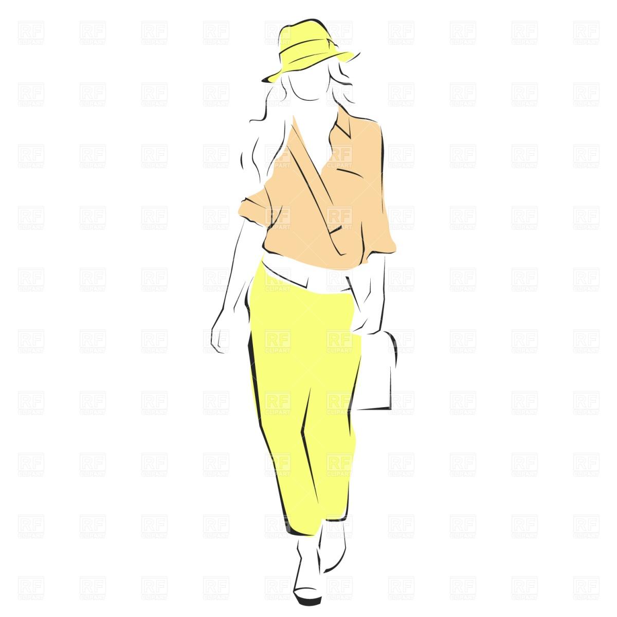 Clipart Fashion Show - Cliparts.co