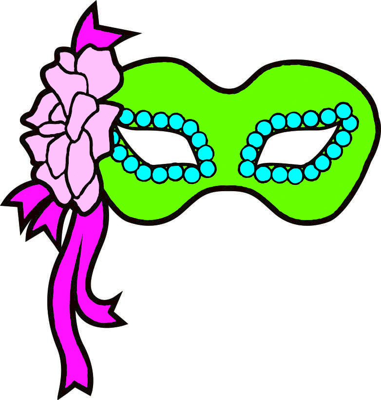 Mardi Gras Masks Clip Art - Cliparts.co