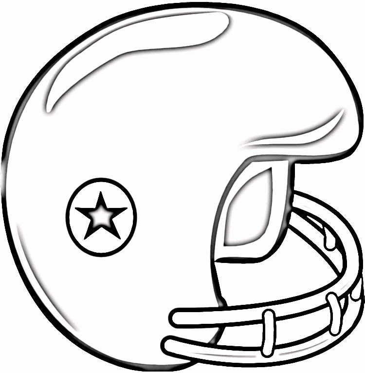 sports helmets coloring pages - Helmet Coloring Pages