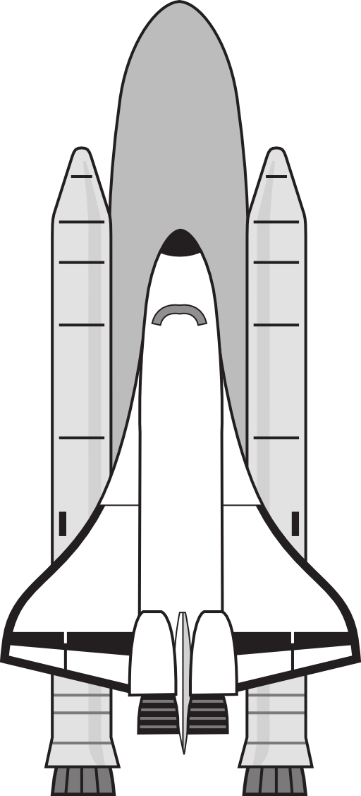 space shuttle outline printables - photo #22