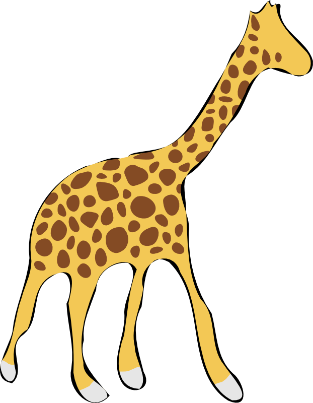 Giraffe Cartoon Clip Art - Cliparts.co