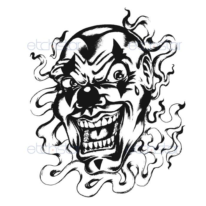 Scary Drawings Of Clowns in addition Evil Girl Tattoos moreover Clown Coloring Page further Clown Coloring Pages likewise . on scary clowns circus